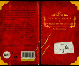 portada Fantastic Beasts and Where to Find Them