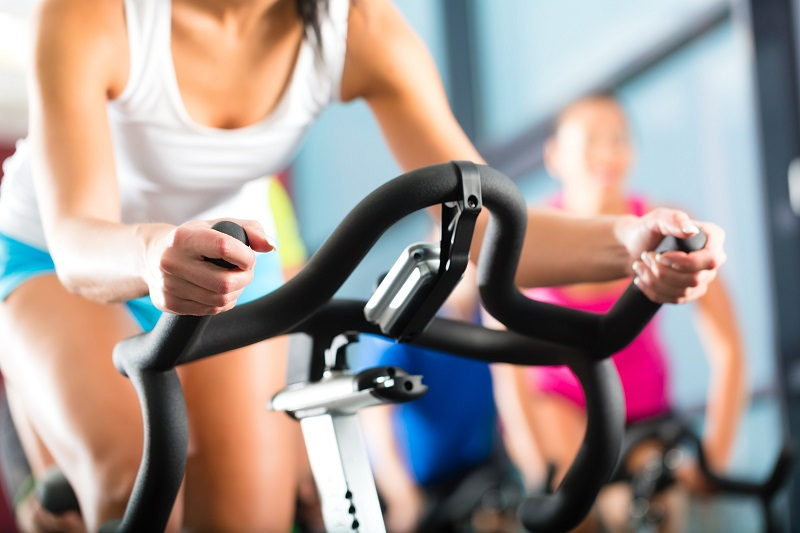 spinning ejercicio intenso