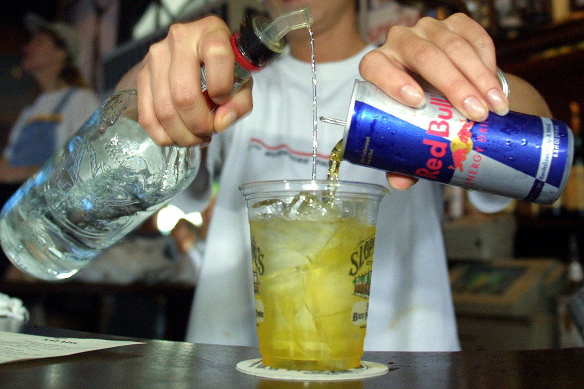 red bull alcohol