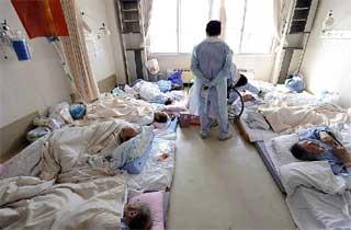 Terremoto de Japón, heridos