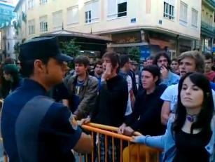 Indignados valencianos