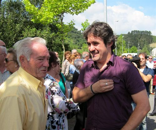 Urizar acude al homenaje a Joxe Mari Korta, empresario asesinado por ETA