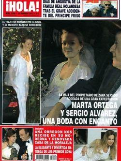 Revista Hola portada 29 de febrero 2012