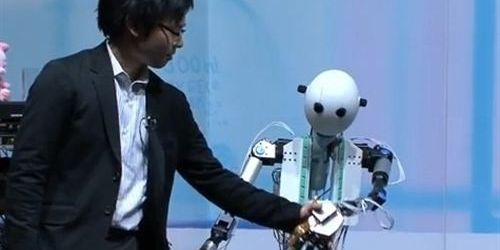 Japón da a luz al primer robot 'sensible'