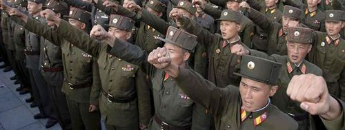 el control total de las poderosas fuerzas armadas de corea del norte