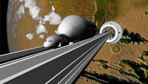 Un científico propone crear un ascensor de la Tierra a la Luna