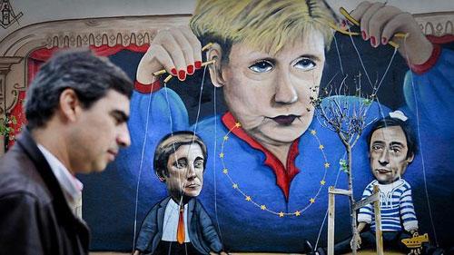 Merkel visita Portugal precedida de una gran polémica por la dureza del ajuste