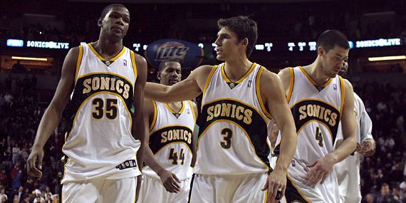 Adiós a Sacramento Kings; vuelven los Seattle Supersonics