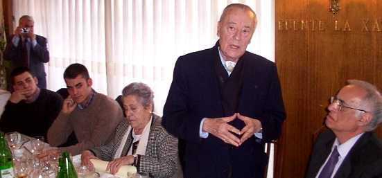 Muere Blas Piñar, histórico líder de la ultraderecha española