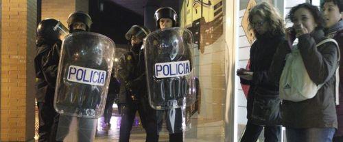 Varios heridos en una nueva manifestación en Burgos