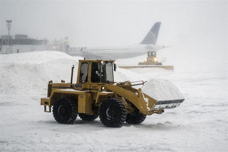 Cancelan dos vuelos entre Costa Rica y Estados Unidos por tormenta de nieve