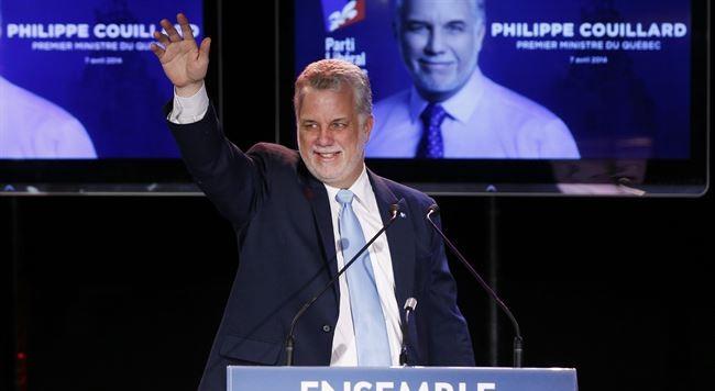 Philippe Couillard vence con mayoría absoluta