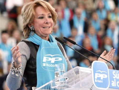 Aguirre: el PP tiene que salir de su 'zona de confort' o le sacarán los ciudadanos