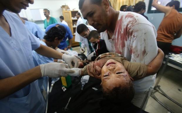 Naciones Unidas acusa a Israel de crímenes de guerra por destruir colegios y hospitales en Gaza