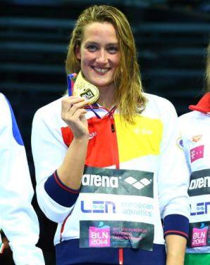 Mireia Belmonte suma su primer oro en Berlín