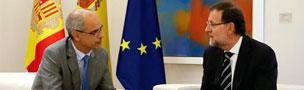 Rajoy y el jefe del Gobierno de Andorra no