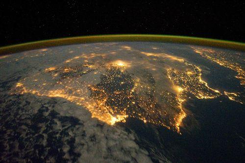 Increíbles imágenes grabadas desde la Estación Espacial Internacional