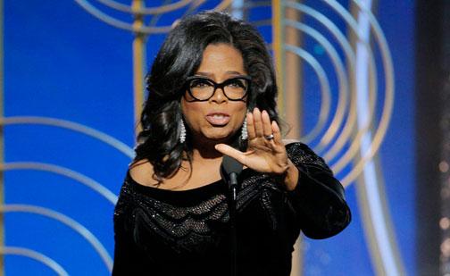Oprah Winfrey estudia aspirar a la Presidencia de EEUU