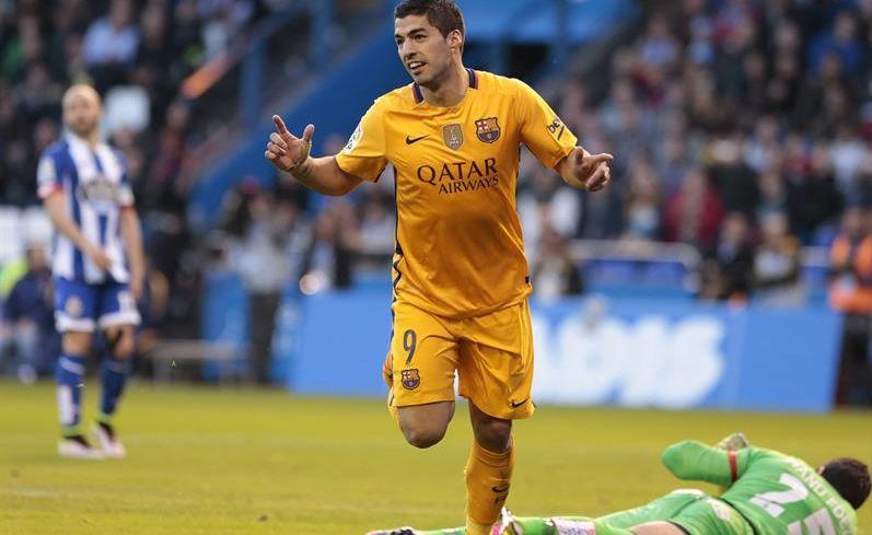 Luis Suárez apunta al 'Pichichi' a falta de dos jornadas
