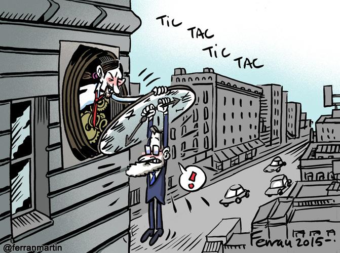 La viñeta: Tic tac