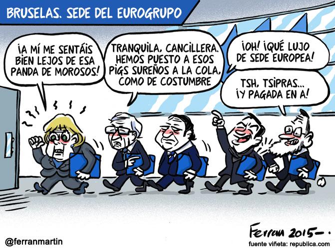 La viñeta: Eurogrupo