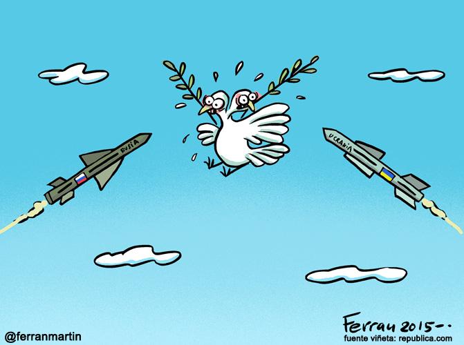 La viñeta: acuerdos de paz