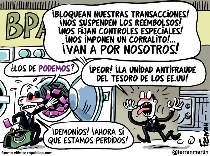 La viñeta: Bancas privadas