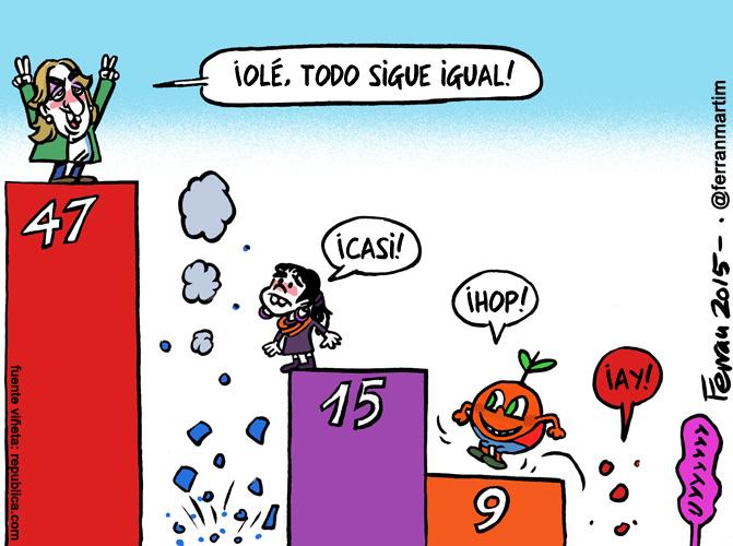 La viñeta: Elecciones andaluzas