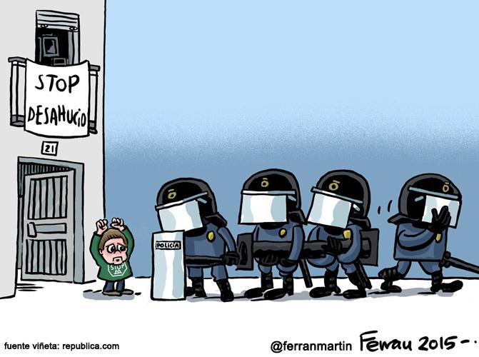 La viñeta: STOP