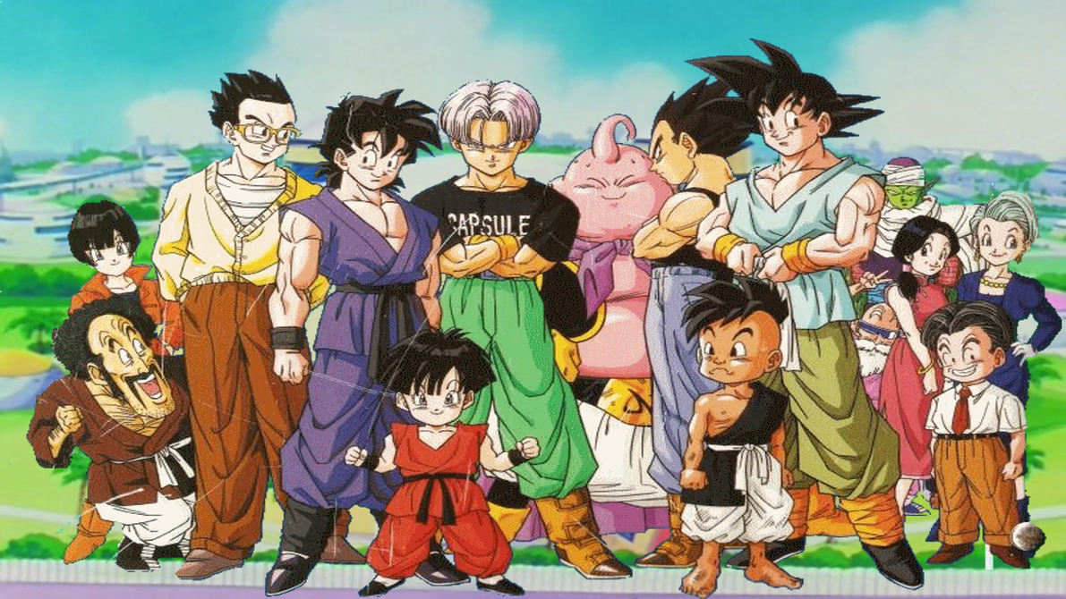 z fighters wallpaper dbs - photo #19