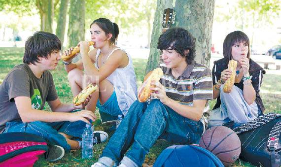Adolescentes que se emborrachan
