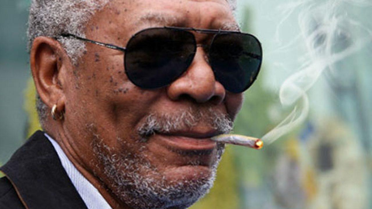 Morgan Freeman, en favor del consumo de marihuana