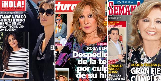 Prensa rosa portadas for Ultimas noticias del espectaculo internacional