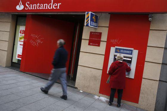 Cajero santander for Cajeros automaticos banco santander