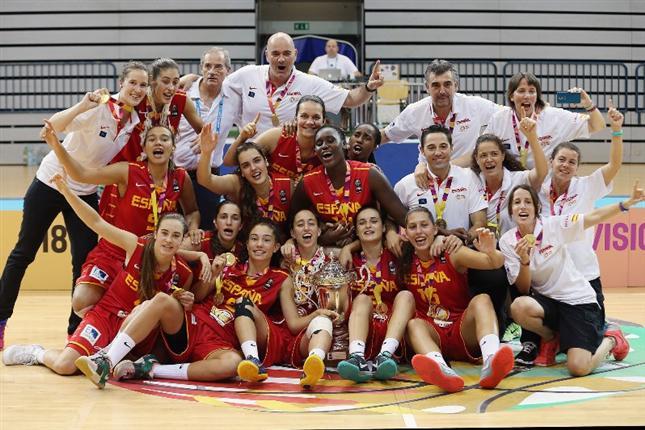 España se proclama campeona de Europa sub 18