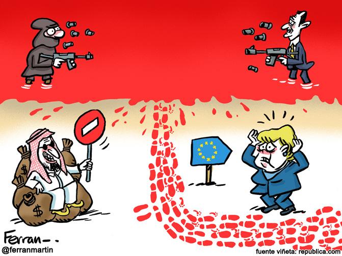 La viñeta: El conflicto sirio