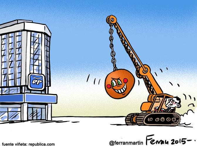 La viñeta: Demoliciones