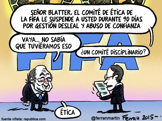 La viñeta: Blatterato