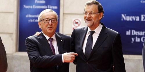 """Rajoy responde a la CE que a los españoles """"no se les puede dar lecciones"""" sobre déficit"""