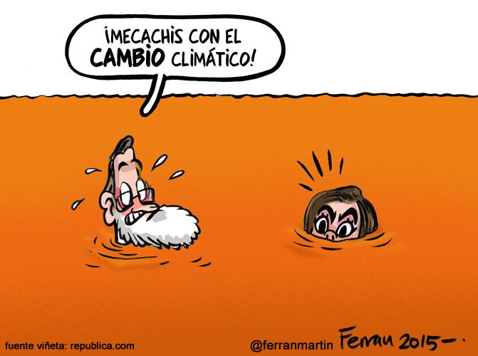 La viñeta: Clima cambiante