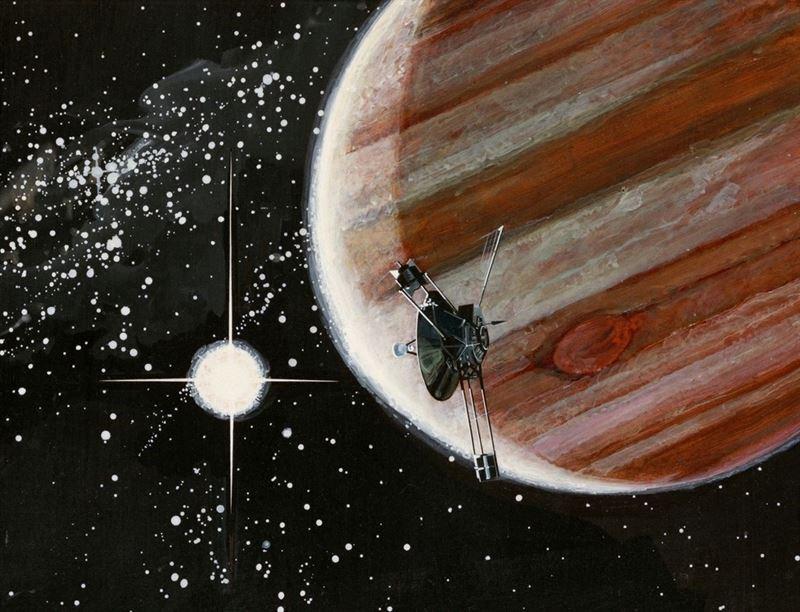 La nave 'Pioneer 10′ cumple 44 años de viaje al infinito