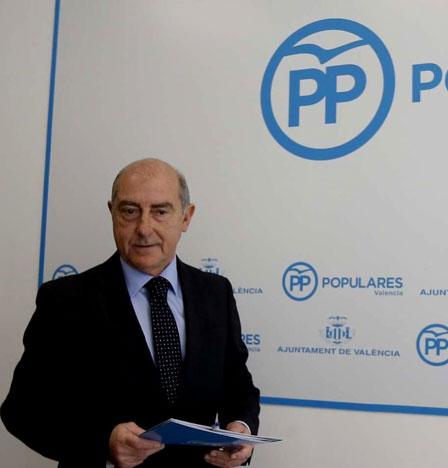 El PP suspende de militancia a sus concejales y asesores del Ayuntamiento de Valencia investigados por la Justicia