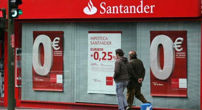 El santander ha sido el primero en dar el pistoletazo de for A banca oficinas