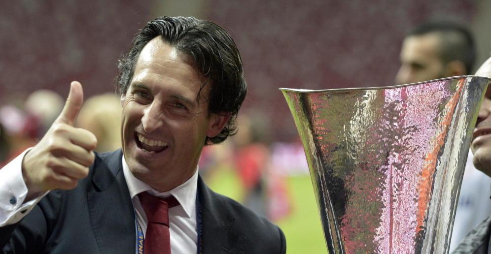 """Emery: """"El Sevilla quiere, busca y trabaja mucho la Europa League"""""""