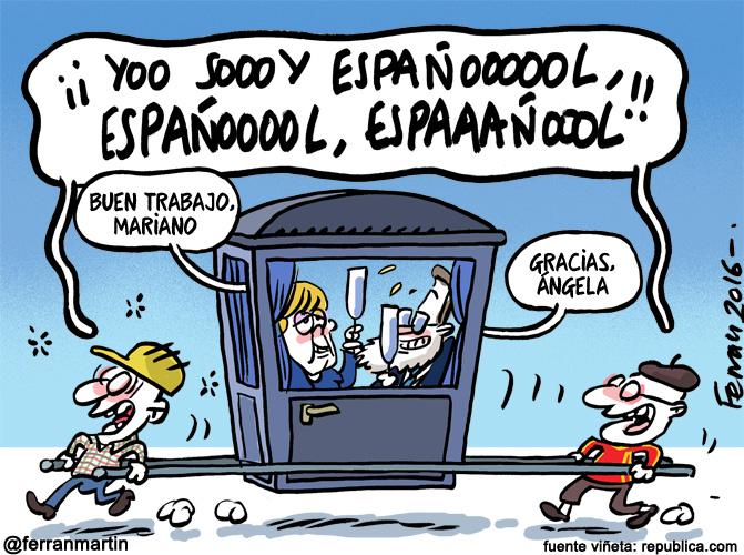 La viñeta: Españoles muy españoles