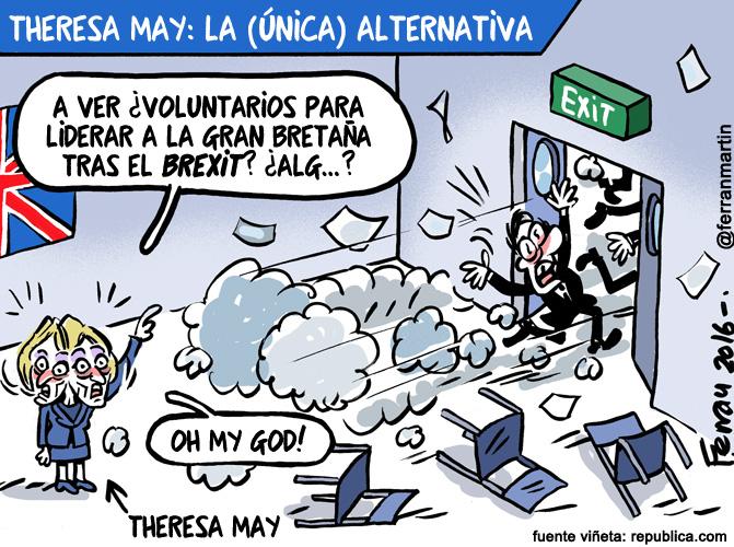 La viñeta: La alternativa Theresa May