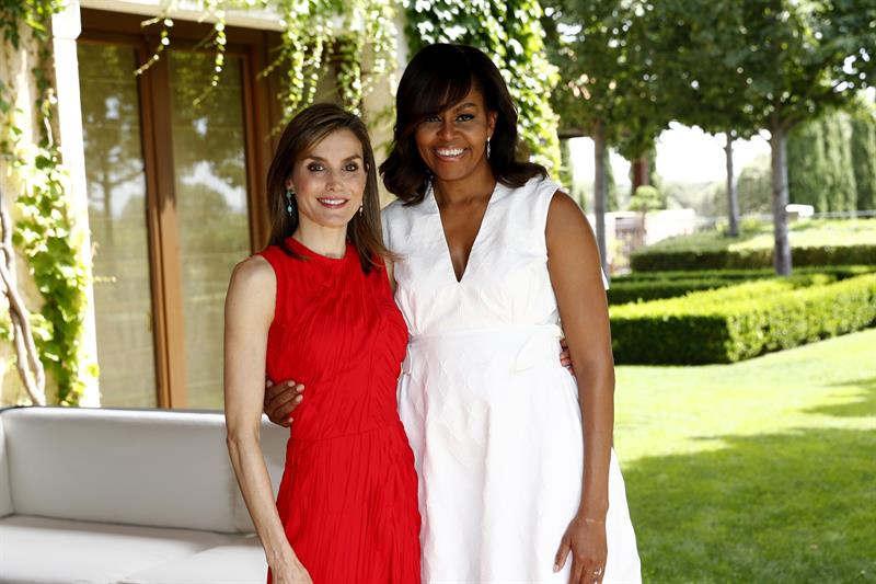 Michelle Obama y la Reina