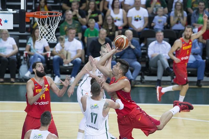 España cae ante Lituania en su preparación de cara a los Juegos de Río