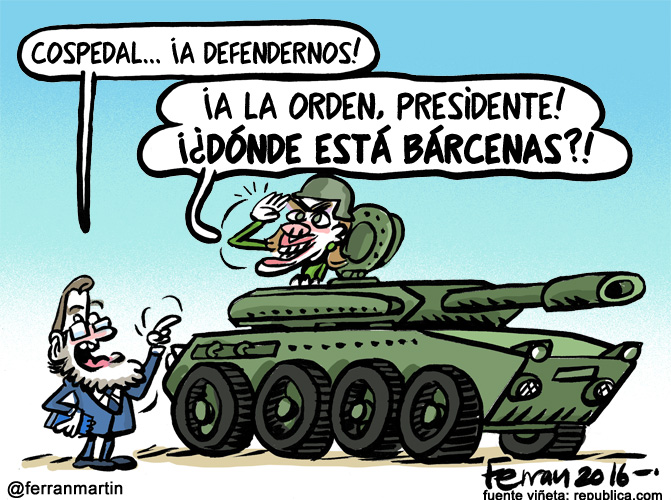 La viñeta: La defensa