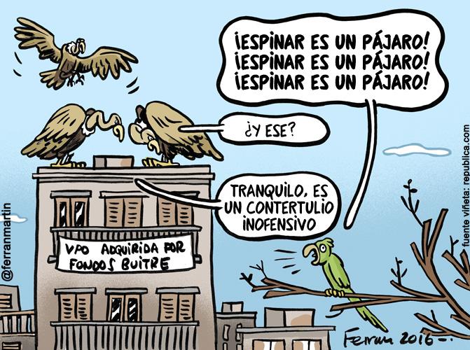 La viñeta: Los pájaros
